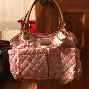 Other - Baby girl diaper bag